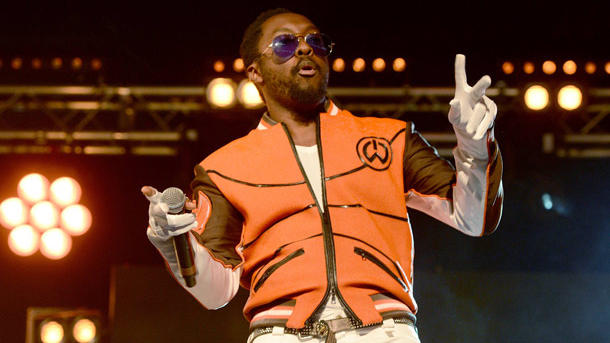 Der Rapper Will.I.Am nimmt die Diagnose mit Humor.  (Quelle: imago/upi-photo)