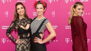 Sophia Thomalla und Sila Sahin sind Hingucker bei Telekom Entertain TV Night