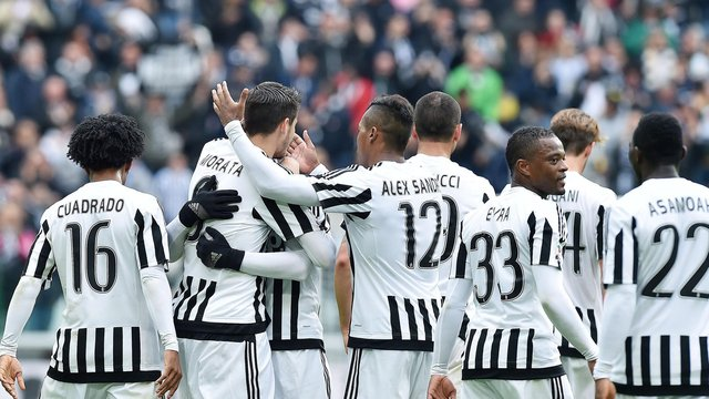 Juventus turin setzt erfolgsserie in der serie a fort for Tabelle juventus turin