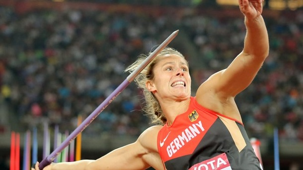 Leichtathletik - Olympia-Gold statt Diamond-League-Geld: Rio lockt Molitor. Katharina Molitor in Aktion.
