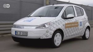 ZF Advanced Urban Vehicle. (Screenshto: Deutsche Welle)