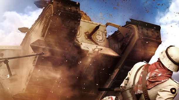 "Battlefield 1: Dice und EA bringen Gratis-Map ""Giant's Shadow"". Der Ego-Shooter Battlefield 1 von EA und Entwickler Dice ist für PC, PS4 und Xbox One erschienen. (Quelle: Electronic Arts)"