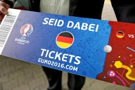 EURO 2016 - Ticket (Quelle: imago images/Jan Woitas/dpa)