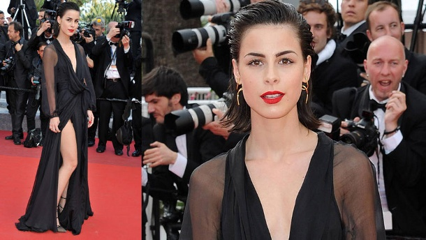 Lena Meyer-Landrut: So sexy verzückt sie Cannes 2016. Lena Meyer-Landrut zeigte in Cannes viel nackte Haut. (Quelle: imago/Independent Photo Agency)