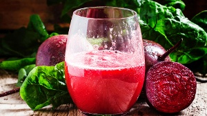 Grapefruit-Smoothie plus Rote Bete: Leckerer Mix