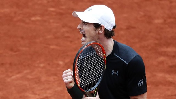 Andy Murray nach Zitterpartie bei French Open 2016 weiter. Andy Murray kämpfte Radek Stepanek in fünf Sätzen nieder.