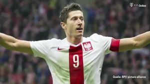 Robert Lewandowski (Screenshot: t-online.de)