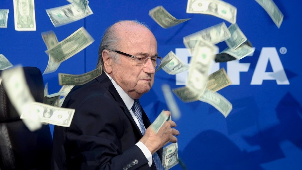 fifa ex pr sident sepp blatter schob sich millionen zu. Black Bedroom Furniture Sets. Home Design Ideas