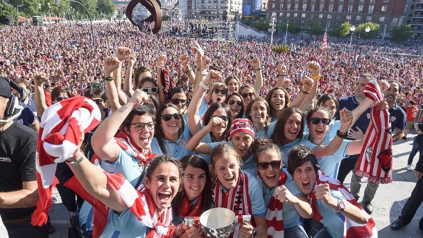 Party in Bilbao: Athletic ist Meister! (Quelle: imago)