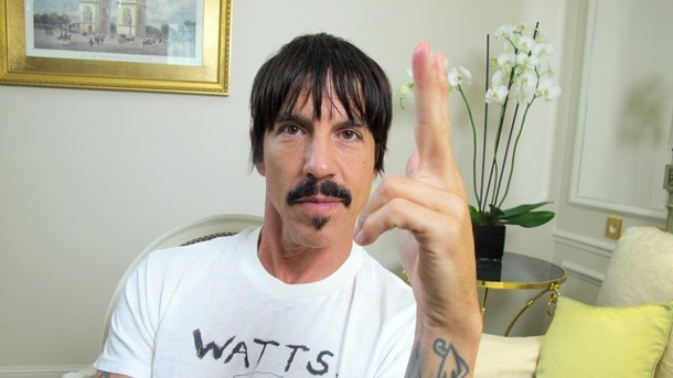 "Red Hot Chili Peppers mit neuem Album: ""The Getaway"" als Neuanfang. Anthony Kiedis ganz entspannt in Paris."
