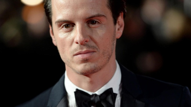 Andrew Scott als Jim Moriarty. (Quelle: dpa)