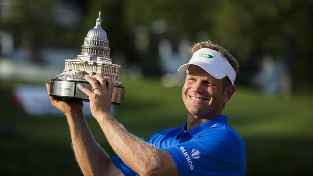 Golf: Amerikaner Hurley gewinnt PGA-Turnier. Billy Hurley triumphierte in Bethesda/Maryland.