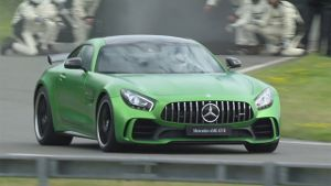 Mercedes-AMG GT R in Brooklands und Goodwood. (Screenshot: News2use)