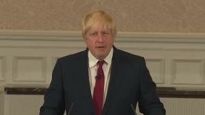 Boris Johnson will nicht Premierminister werden. (Screenshot: Reuters)