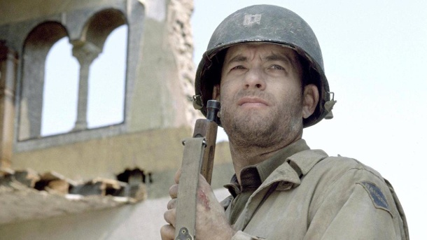 "Tom Hanks als Captain John Miller in ""Der Soldat James Ryan"". (Quelle: Zuma Press)"