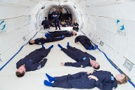 Der Parabelflug Zero-G findet in den USA statt. (Quelle: Steve Boxall / Zero Gravity Corporation)