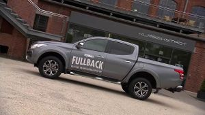 'Fullback 2016': Erster Pick-up von Fiat im Test. (Screenshot: News2use)