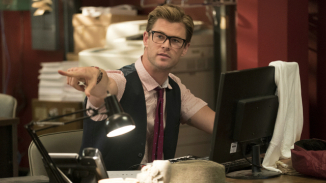 """Ghostbusters""-Exklusivclip mit Chris Hemsworth. (Quelle: Sony Pictures)"