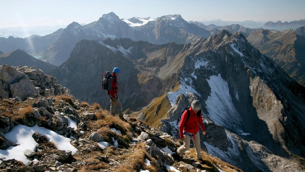 Alpenüberquerung: die schönsten Touren. - (Quelle: Thinkstock by Getty-Images)