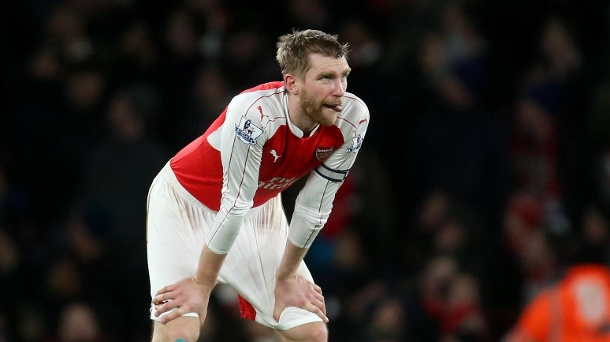 Per Mertesacker spielt seit 2011 in der Premier League.  (Quelle: imago)