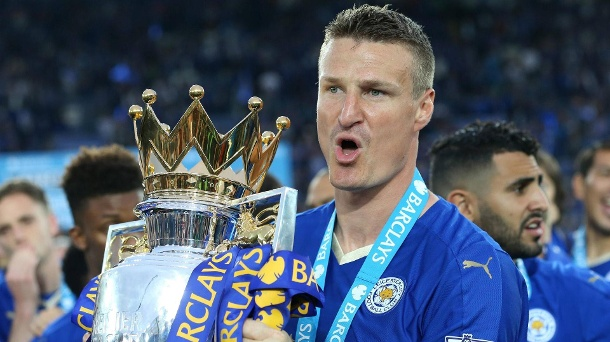 Premier-League-Meister 2016: Robert Huth. (Quelle: imago images)
