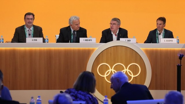 Olympia - IOC-Chef Bach: Anti-Doping-System muss auf den Prüfstand. Thomas Bach leitet das IOC-Meeting in Rio.