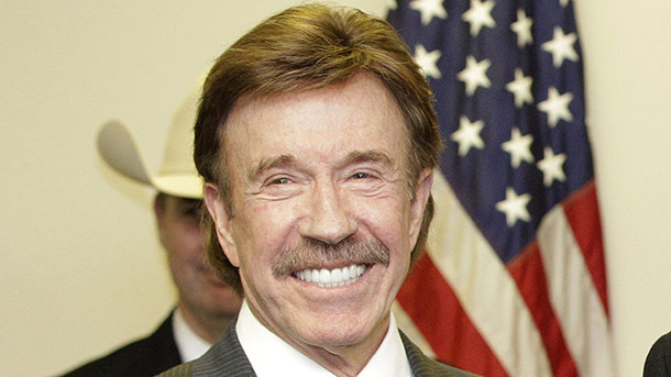 Chuck Norris (Quelle: AP Photo/Tony Gutierrez)
