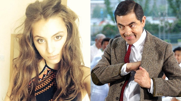 "Mr. Bean: So schön ist die Tochter von Rowan Atkinson. Lily Atkinson ist die Tochter des ""Mr. Bean""-Darstellers Rowan Atkinson. (Quelle: imago/China Foto Press/instagram.com/Lily Atkinson)"