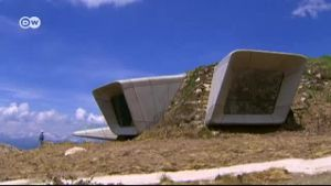 Reinhold Messners Mountain Museum. (Screenshot: Deutsche Welle)