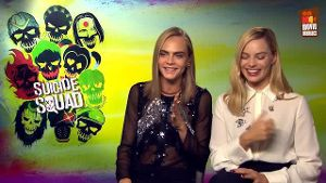 "Das komplette ""Suicide Squad"" im Video-Interview. (Screenshot: t-online.de)"