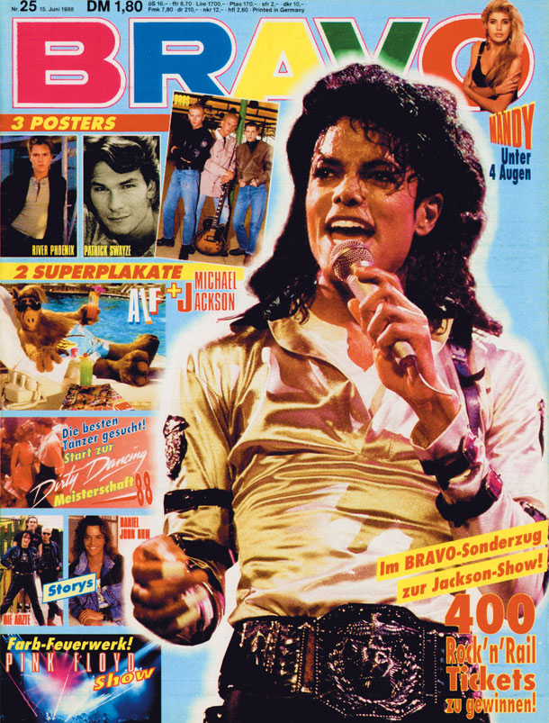 Michael Jackson (Quelle: Bauer Media Group/BRAVO)