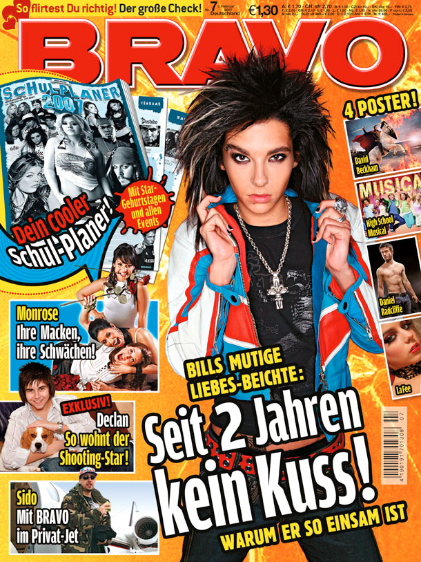 Tokio Hotel (Quelle: Bauer Media Group/BRAVO)