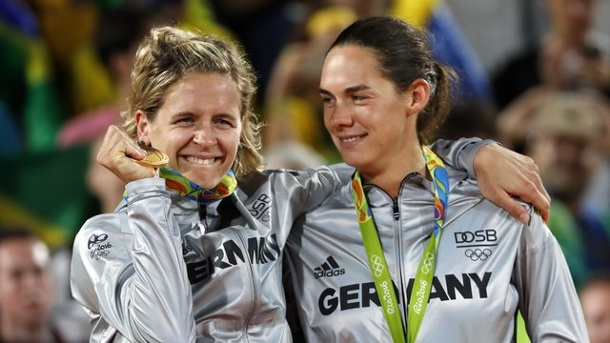 Olympia 2016 - Beachvolleyball: Golden Beach-Girls werden zur Attraktion. Die Beach-Königinnen von der Copacabana.