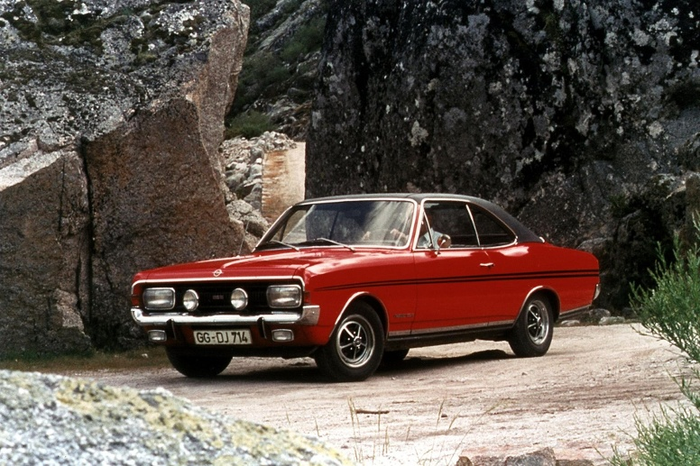 Opel Commodore A Coupé GSE. (Quelle: Hersteller)