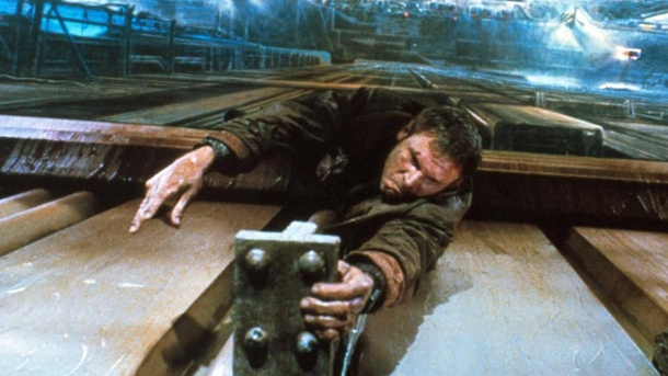 "Tödlicher Unfall am Set von ""Blade Runner 2"". Harrison Ford in Ridley Scotts Filmklassiker ""Blade Runner"" (1981). (Quelle: imago/AD)"