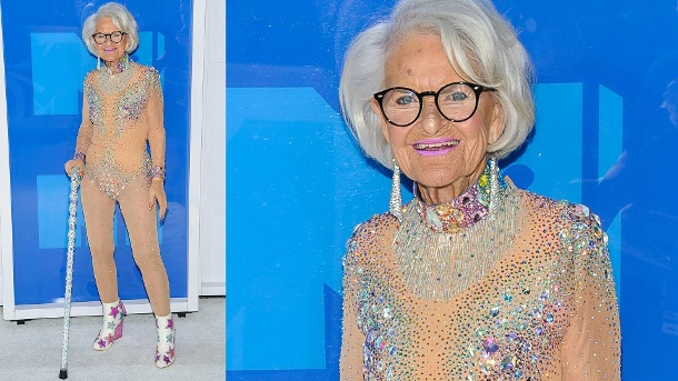 MTV Video Music Awards: Oma Baddie Winkle stellte alle in den Schatten. Seit 2014 ist Baddie Winkle ein Internetstar. (Quelle: ZUMA Press / imago)
