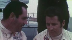 F1-Legende Jack Brabham im Portrait. (Screenshot: RTV)