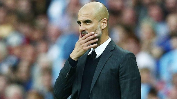 Champions League 2016: Guardiola warnt vor Borussia Mönchengladbach. Pep Guardiola geht mit Manchester City als Favorit in die Partie gegen Gladbach. Trotzdem warnt er vor dem Gegner.  (Quelle: imago/BPI)
