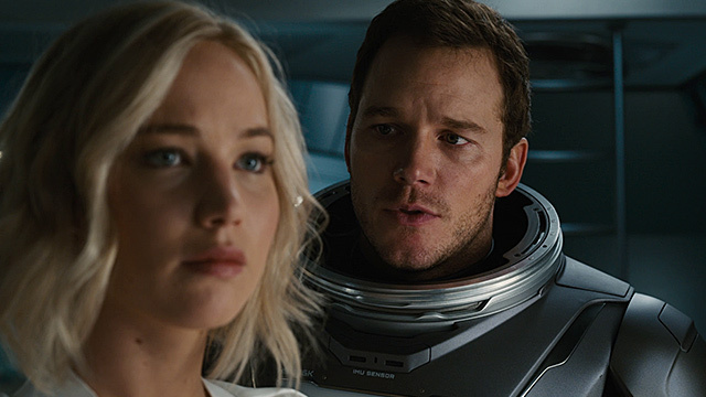 Jennifer Lawrence in packendem Sci-Fi-Thriller. (Screenshot: Sony Pictures)