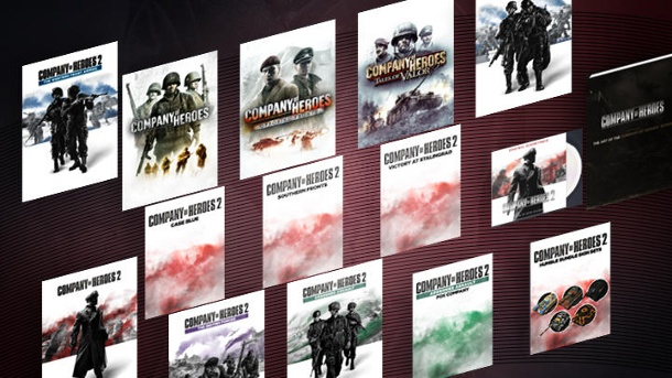 "Das ""Humble Company of Heroes""-Bundle ist gestartet. Das ""Humble Company of Heroes Anniversary""-Bundle ist gestartet. (Quelle: Humble Inc. )"