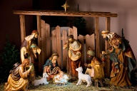 Weihnachtskrippe (Quelle: Thinkstock by Getty-Images)