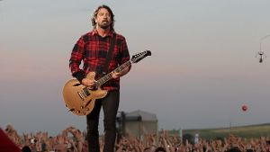Dave Grohl ist Frontman der Foo Fighters.