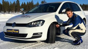 Bis zu zehn Testfahrer arbeiten alleine für Goodyear Dunlop täglich im Norden Finnlands daran unsere Winterreifen besser zu machen. (Screenshot: die-autotester)
