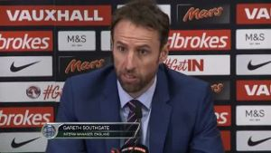 Southgate lobt Three Lions in höchsten Tönen. (Screenshot: Omnisport)