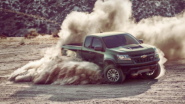 Neuer Pick-up Chevrolet Colorado ZR2. (Quelle: Hersteller)