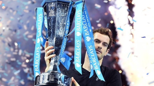 Tennis - Mission erfüllt: Murray auf dem Tennis-Thron. Andy Murray triumphiert bei den ATP-Finals in London.