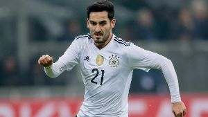 Deutschlands Nationalspieler Ilkay Gündogan am Ball.