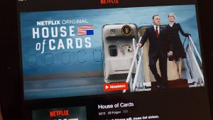 Netflix-Serie 'House of Cards'