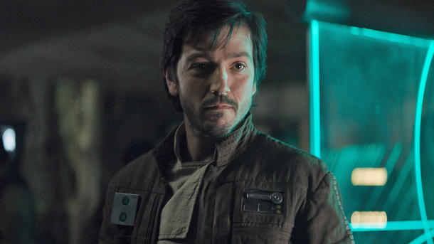 Diego Luna ist Captain Cassian Andor. (Quelle: 2016 Lucasfilm Ltd. All Rights Reserved)