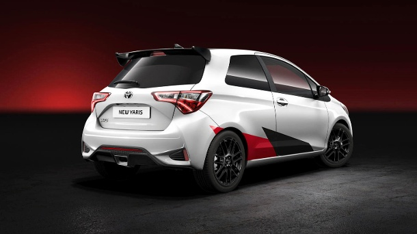 Toyota Yaris: Sportversion in Genf. (Quelle: Hersteller)
